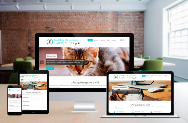 Diseño Web – Cuidadora Cat&Dog