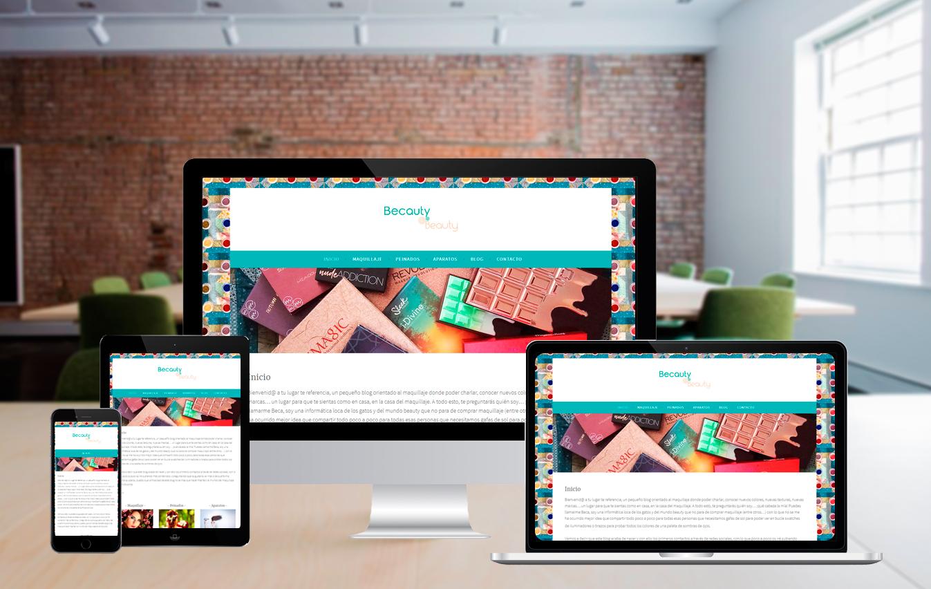 Diseño Web – Becauty
